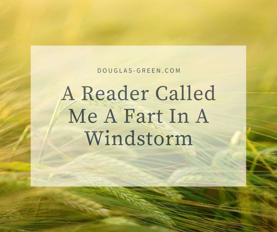 A Reader Called Me A Fart In A Windstorm