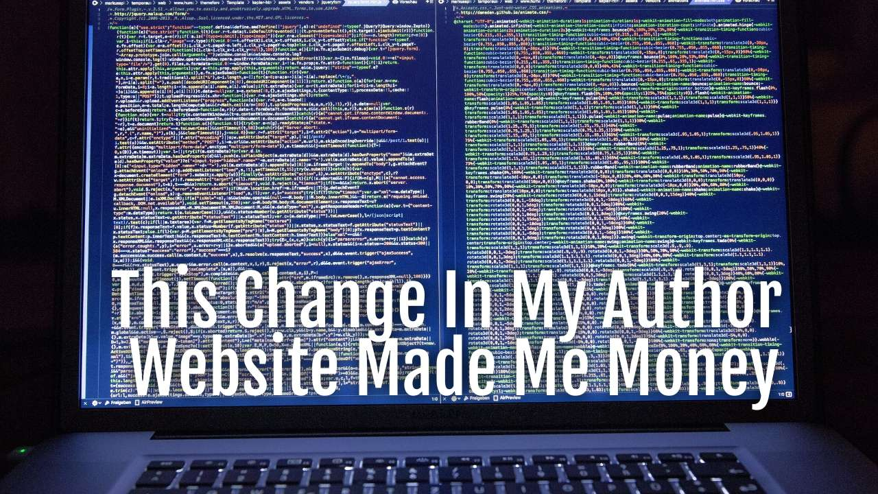 change author website