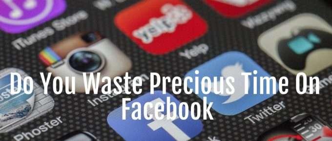 waste time facebook